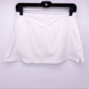 Nike Dri-Fit White Athletic Tennis Skirt Skort